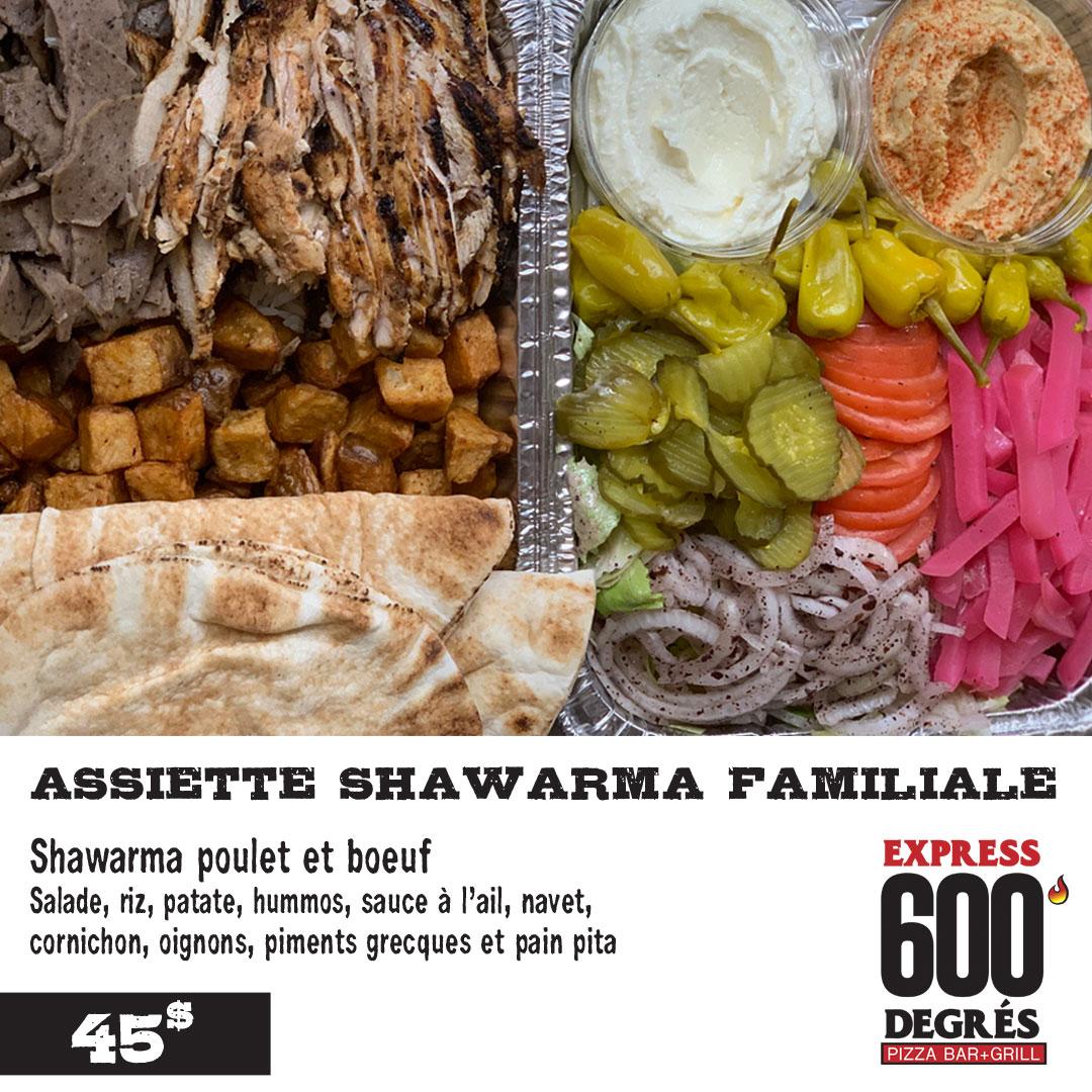 Shawarma-Familiale